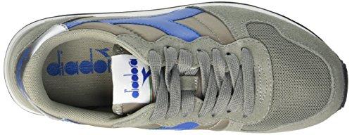 Diadora Camaro, Sandalias con Plataforma Unisex Adulto Multicolore (C5416 Grigio Cenere/Azzurro Daphne)