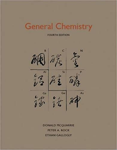 mcquarrie general chemistry 4th edition solutions manual