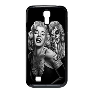 Mystic Zone Zombie Marylin Monroe Case for Samsung Galaxy S4 Hard Cover Fit Cases SGS0082 by runtopwell