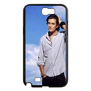 Orlando-Bloom Samsung Galaxy N2 7100 Cell Phone Case Black M3792242