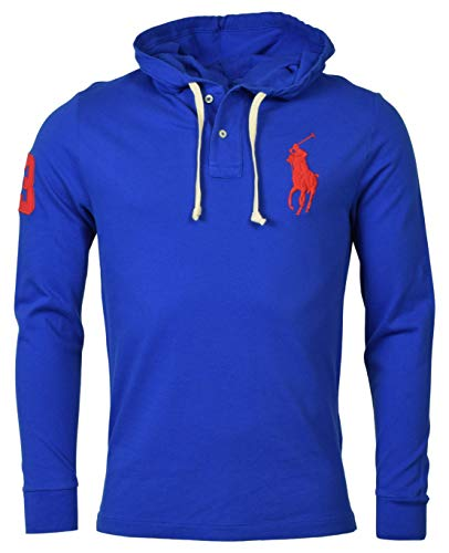 POLO RALPH LAUREN Mens Embroidered Sweatshirt Hoodie