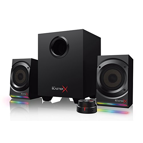 Creative Sound BlasterX Kratos S5-2.1 USB Gaming Speakers with Customizable...