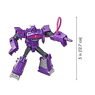 Transformers Tra Cyberverse Spark Armor Shockwave: Toys & Games