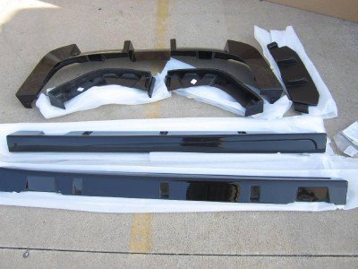 Amazoncom Oem 2005 2006 Kia Spectra Tuner Body Spoiler Kit Ground
