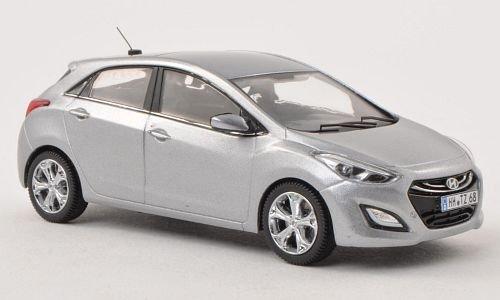 Hyundai I30 (GD), met. silver grey , 2012, Model Car, Ready-made, Premium X 1:43