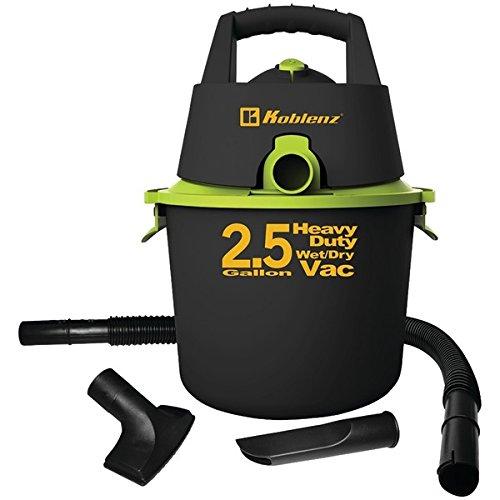 KOBLENZ WD-2.US Wet/Dry Vacuum, 2.5 gallon