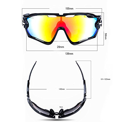 5364f1f7bc0 Road Mountain Cycling Glasses Goggles Eyewear Polarized Cycling Bicycle  Sunglasses
