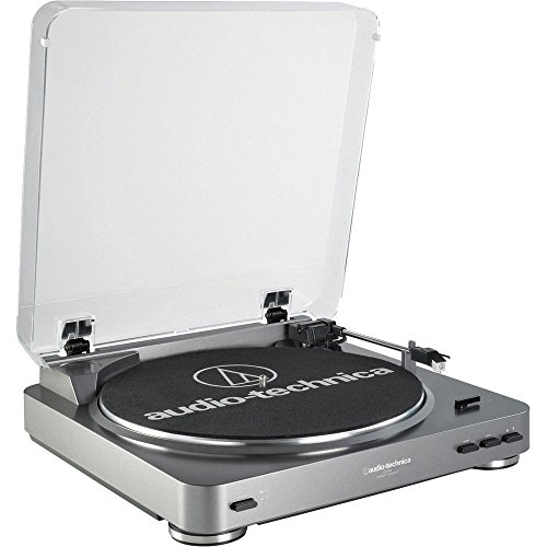 Audio-Technica AT-PL60USB USB Turntable Premium Bundle with