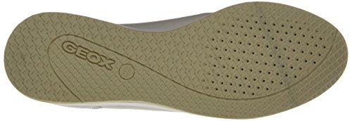 Geox D Avery C, Mocasines para Mujer Blanco (OFF WHITEC1002)
