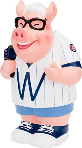 FOCO MLB Chicago Cubs Caricature Piggy Bank, One Size, Team -