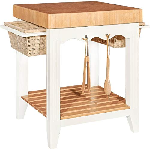 Color Story Kitchen Island - Powell's Furniture D1031D16 Kitchen Island, White
