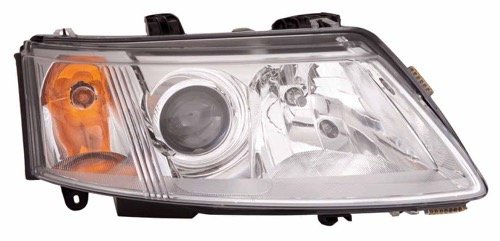 - Go-Parts ª OE Replacement for 2003-2007 Saab 9-3 Front Headlight Headlamp Assembly Front Housing/Lens/Cover - Right (Passenger) Side - (4 Door; Sedan) 12 799 352 SB2503109 for Saab 9-3