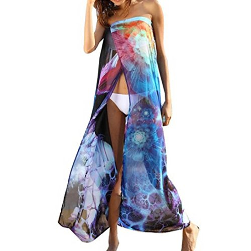 Wensltd Clearance! Floral Swimwear Beach Bikini Cover Up