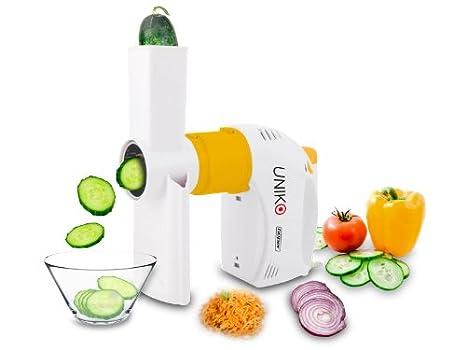 Beper 90.328 Uniko-Corta-Verduras + batidor eléctrico, 300 W, ABS, Blanco: Amazon.es: Hogar