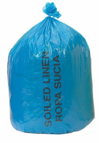 Medline NON023143 Soiled Linen Liners, Polypropylene, Latex Free, 29-Inch X 43-Inch Size, Blue (Pack of 200)