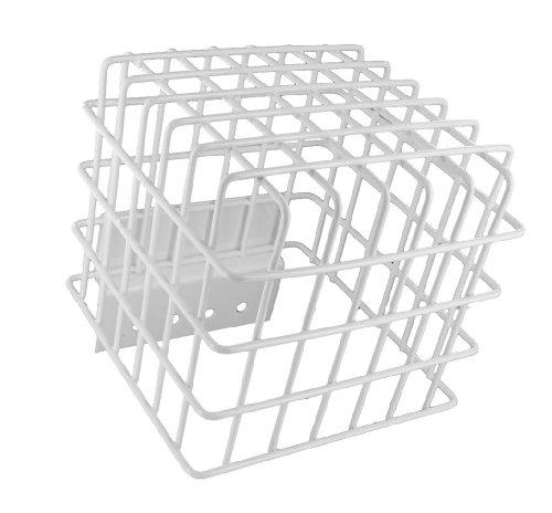 (Leviton OSFCG-W OSF High Bay Sensor Protective Cage, White )