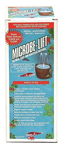 ECLAB Microbe-Lift 10PLP PL Ponds & Lagoons Water Clarifier, 16 oz (2 ()