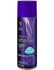 Body Basics Soothing Shave Gel Extra Moisturizing for...