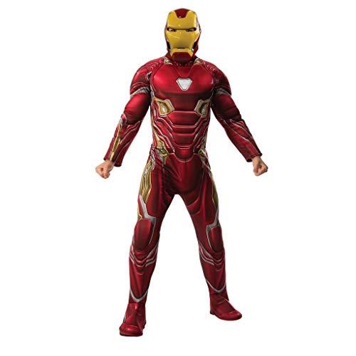 Rubie's Men's Marvel Avengers Infinity War Iron Man Deluxe Costume, Standard ()