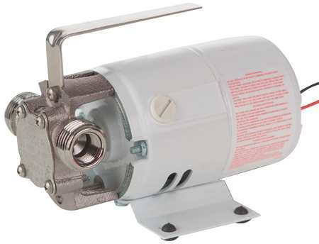 Little Giant Pump, Utility, Nickel-Plated Brass, 115 VAC