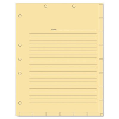 TAB54519 - Tabbies Manila Medical Chart Divider Sheets