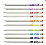 Original Smencils Gourmet Scented Pencils 10 PK - 10 NEWLY RELEASED 2012 SCENTS