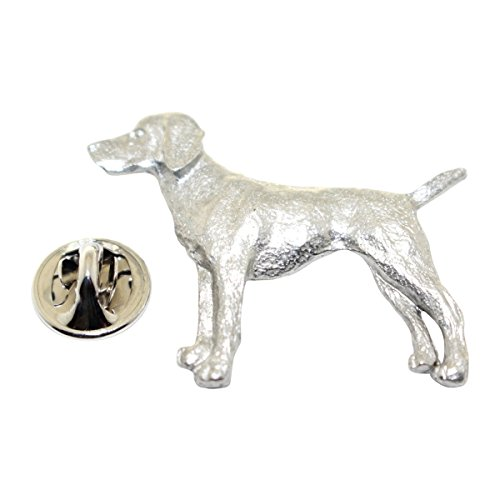 Vizsla Pin ~ Antiqued Pewter ~ Lapel Pin ~ Sarah's Treats & Treasures