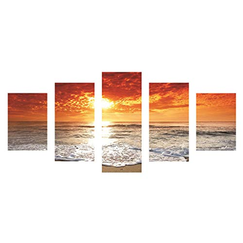 - NewKelly Beautiful Beach Sunset Scenery Full Drill DIY 5D Diamond Painting Embroidery Cross Crafts Stitch Kit Home Decor