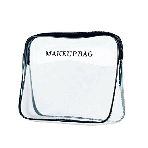 Bld Bag - BLD Toiletry Bag Women Large Capacity Waterproof Makeup Accessories Organizer Transparent R-8002-3