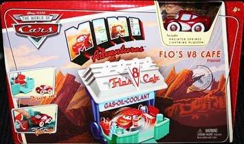 Cars Mini Adventures Playset:Flo's V8 Cafe