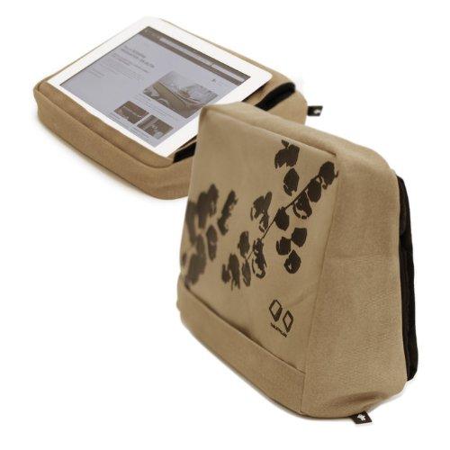 Para Tablet Bosign cojín para iPad y Tablet Caqui-marrón ...