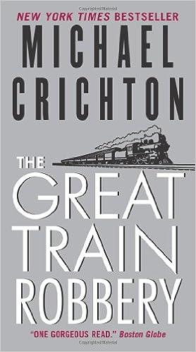 the great train robbery michael crichton 9780061706493 books