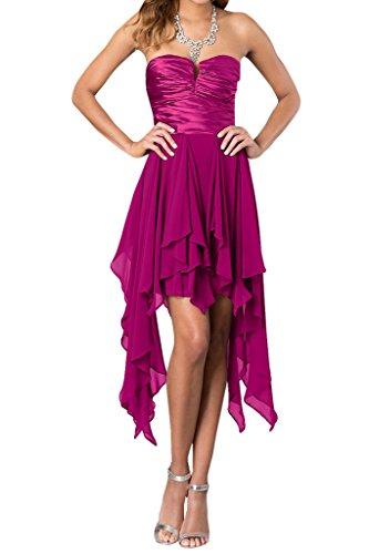 Ivydressing -  Vestito  - linea ad a - Donna viola 42