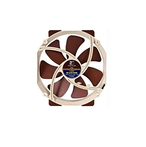 Noctua Fan NF-A15 PWM 140x140x25mm 4Pin SSO2 Bearing A-Series Blade Geometry Electronic Consumer Electronics by noctua