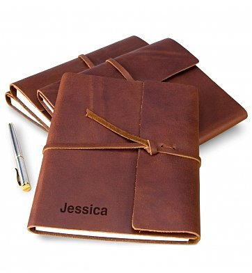 Personalized Fine Leather Journal Unique product image