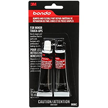 Bondo Bumper and Flexible Part Repair, 00806, 2 oz