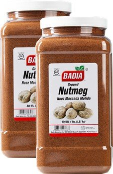 Badia Nutmeg Ground 4 lbs Pack of 2 by Badia