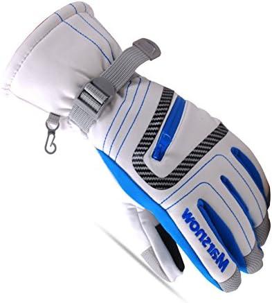 【First Pure】 五指 無地スキー スノボ グローブ メンズ レディース 子供用 手袋 FP1007