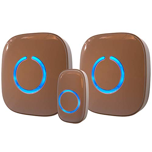 Wireless Doorbell by SadoTech - Waterproof Door Bells & Chimes Wireless Kit - Over 1000-Foot Range