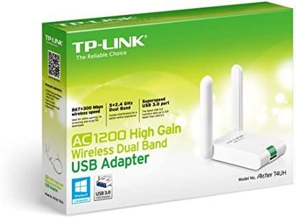 TP-LINK Archer T4UH - Adaptador inalámbrico USB de Banda ...