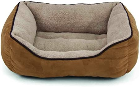 Dallas Manufacturing Co. 25 Faux Suede Box Pet Bed