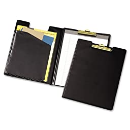 Cardinal Clip Folder Pad Holder, Legal Size, Includes Writing Pad, Black (253 610)