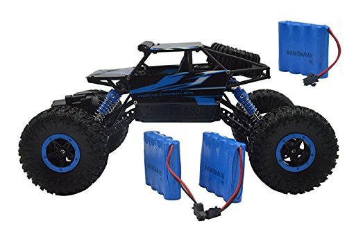Blomiky C181 10 Inch 1:18 Scale 4WD High Speed Racing Cars Electric Buggy Hobby Car Fast Race Off-Road RC Truck Vehicle Toy C181 Blue