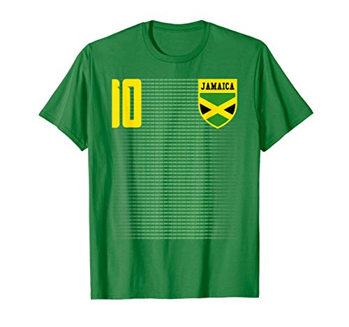(Jamaica Football Soccer Jersey Shirt Tee)