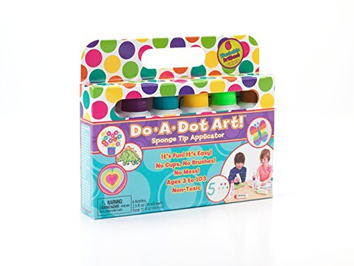 Do A Dot Art! Markers Brilliant Washable 6 pack, The Original Dot Marker by Do A Dot Art