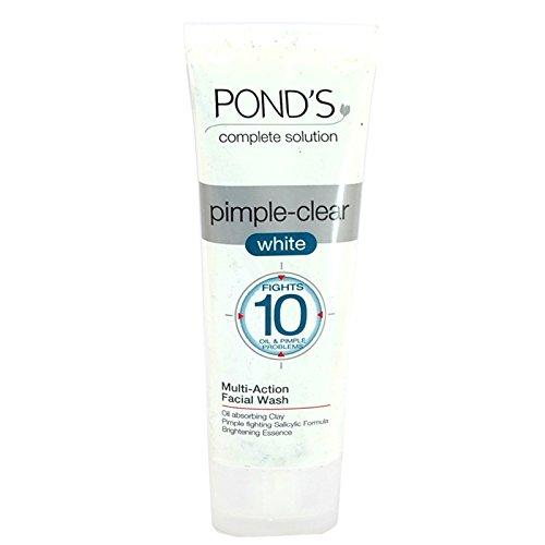 ponds-pimple-clear-white-multi-action-facewash-50g