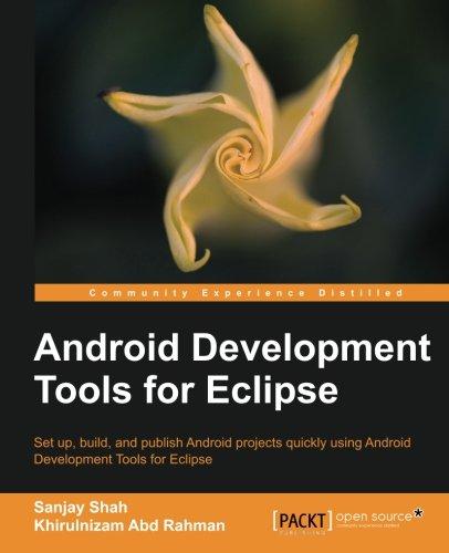Android Development Tools for Eclipse by Khirulnizam Abd Rahman , Sanjay Shah, Publisher : Packt Publishing
