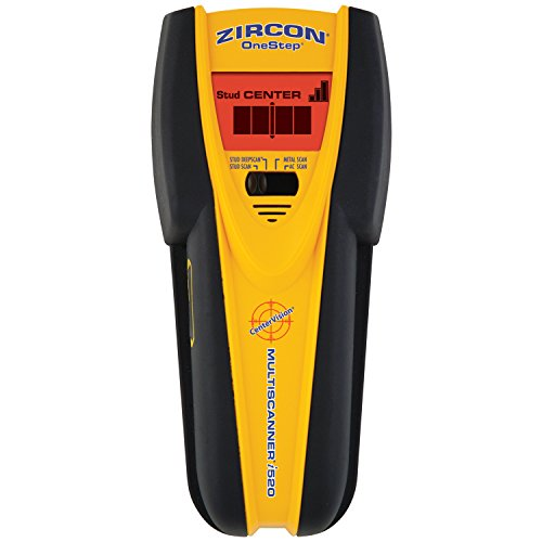 Metal Stud Walls (Zircon 68314 MultiScanner i520 Center-Finding Stud Finder with Metal and AC Electrical)