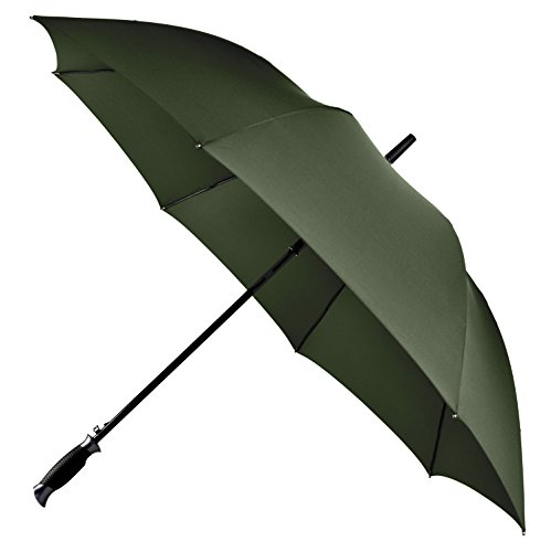 Rain Pants Rei - LifeTek New Yorker 54 Inch Automatic Open Umbrella with Windproof Frame 210T Microfiber Fabric with Teflon Rain Repellant Technology (Green)