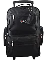 HiPack 19 Rolling Backpack Carry-on Luggage Wheeled Bag - Overnighter